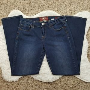 Lucky Brand Sofia Straight Ankle Denim Jeans Sz 8
